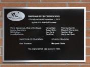 约克区万锦市的历史悠久的公立高中Markham District High School