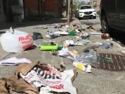 学年结束乱扔东西 蒙特利尔麦吉尔大学附近变垃圾场
