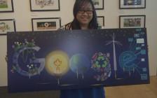 加拿大多伦多公立高中女生获得加拿大谷歌涂鸦冠军
