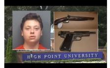 计划在校园内大开杀戒,美国大学新生藏枪被捕!