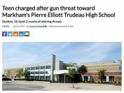 真相!万锦市特鲁多公立高中学生遭欺凌反被控枪击威胁