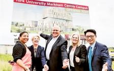 万锦拨地5英亩建约克大学新校区 已成安省创新走廊