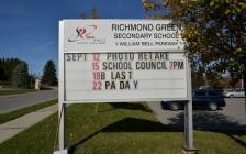 安省学校确诊948例!约克区公立高中Richmond Green中招