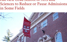 """哈佛大学文理研究生院将减少或暂停某些专业招生!招生方式或将""""重置""""!"""