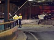 美国波士顿中国留学生超速驾车 飞上隧道天花板惨死