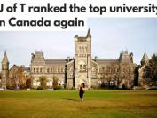 学术声望99.7分,全球排名第31 加拿大最佳大学是多伦多大学