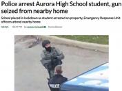 约克区Aurora High School怎么了?持枪、自杀、欺凌打架