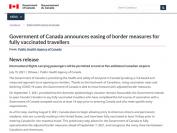 加拿大入境新规,符合要求可无需隔离!