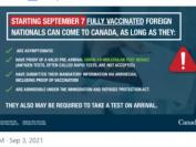 加拿大9月7日正式开放边境,看看有哪些入境要求?!