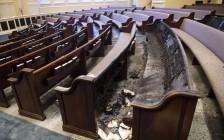 中国留学生凌晨纵火, 烧了美国192年地标教堂