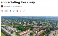 多伦多郊区联排别墅涨疯了!一上市就被抢空!两年暴涨34%