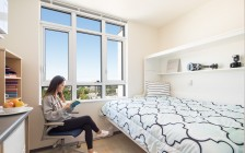 温哥华UBC大学宿舍新房型——纳米套间(组图)