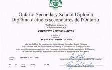 安大略省高中毕业证书(OSSD)
