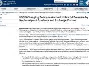 美国留学生签证opt过期不回国 今后将被禁止入境美国