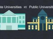 美国公立大学私立大学对比