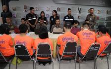 七名中国ACT替考枪手在泰国被逮捕