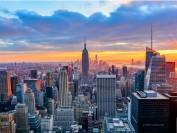 纽约华人集会抗议市长废除亚裔学生占录取新生一半以上的特殊高中考试制度